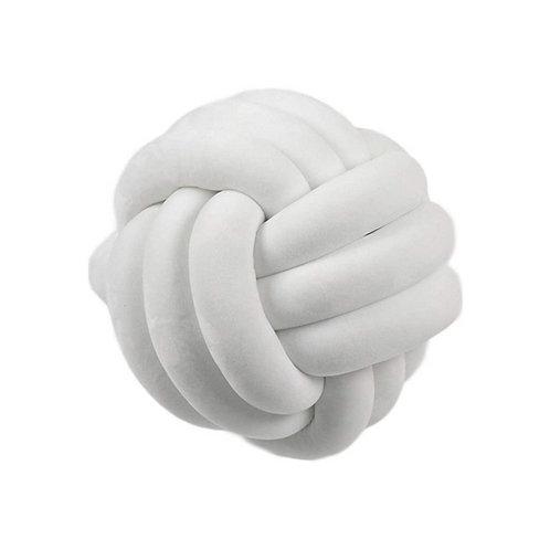 Cojín Nórdico Nudo Blanco