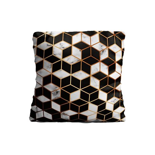 Cojín Polygonal Gold Premium 45x45