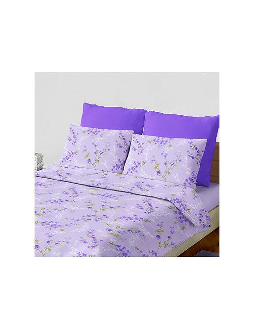 """Set sabana """"laurent"""" 144 hilos color """"violeta"""" queen"""