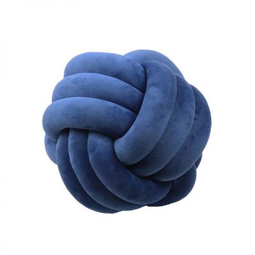 Cojín Nórdico Nudo  Azul