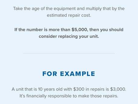 Homeowner Tips - When to upgrade your home A/C system from a financial perspective?