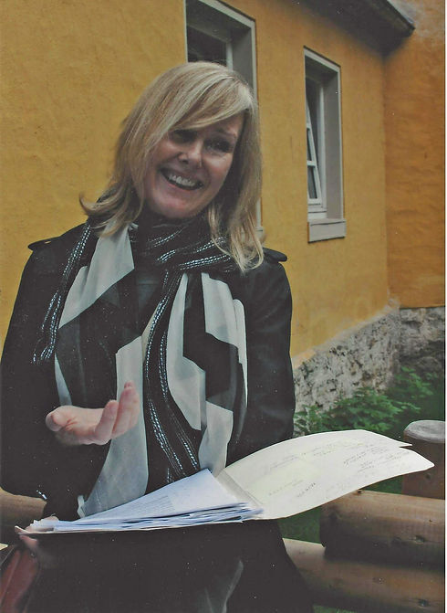 Gail at Schloss Holte October 2016 1.jpg