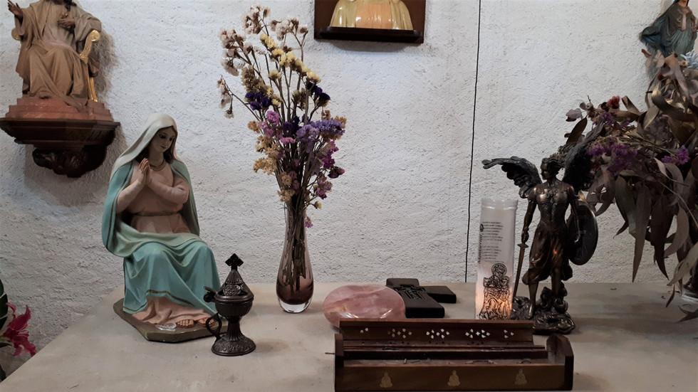 Detalle altar capilla