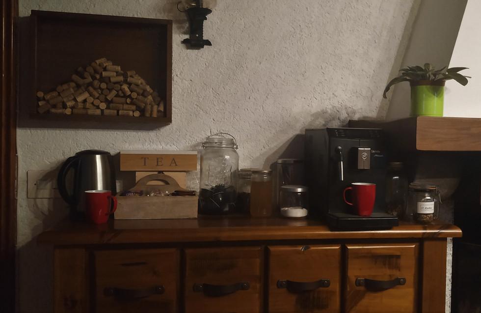 Zona cafe-té - comedor