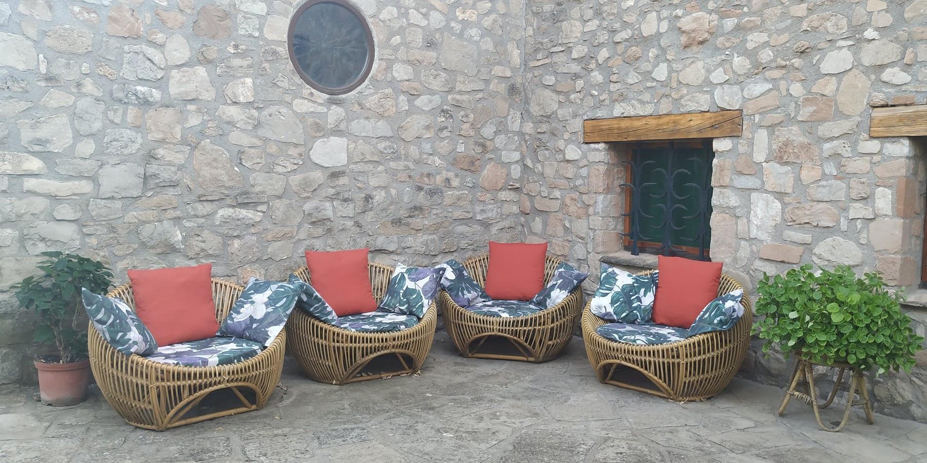 Zona patio barbacoa
