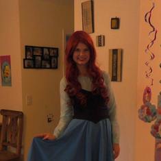 """Little Mermaid""""Kiss the Girl"""" Dress"""