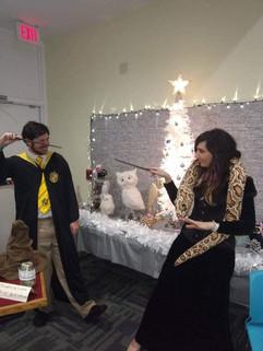 Hogwarts Students-- Magic Show!