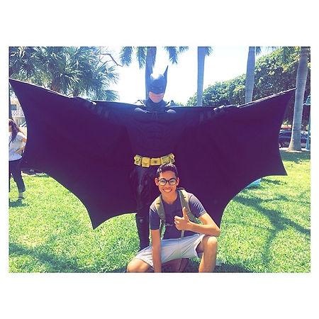 Superhero for Hire