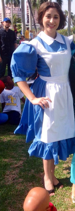 Blue Dress Belle