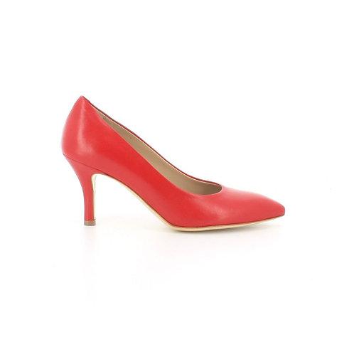 Sarkanas ādas laiviņas Melluso Shoes