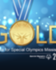 Gold-A Gala for Special Olympics MS Invi