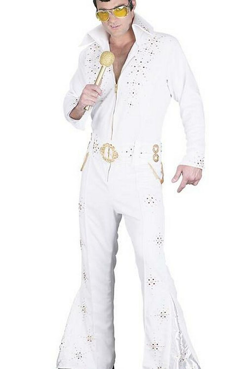 ELVIS- WHITE SUIT- RENTAL FEE - $70.00