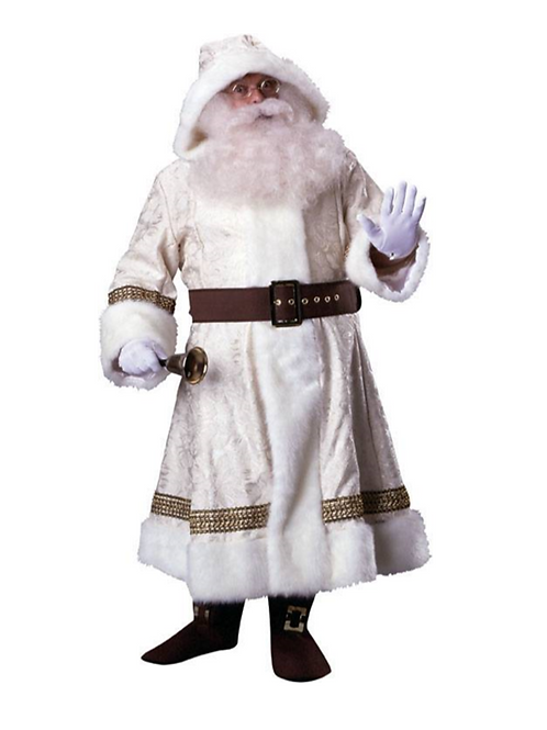 OLD TIME SANTA - WHITE-RENTAL FEE $80.00
