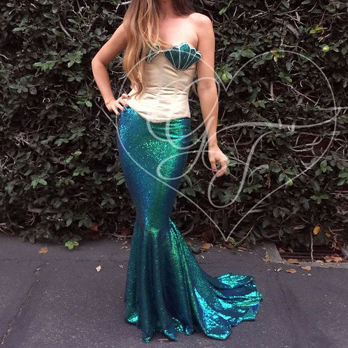 MERMAID COSTUME- RENTAL FEE $40.00