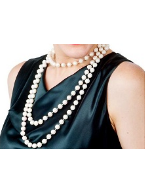 60'S WHITE PEARL NECKLACE
