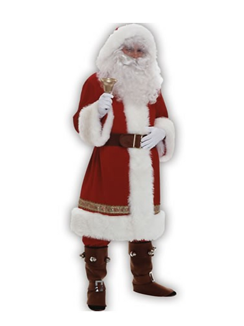 OLD TIME SANTA - RED-RENTAL FEE $80.00
