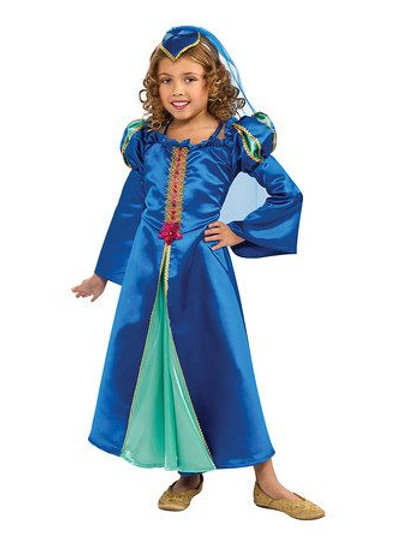 Child Renaissance princess