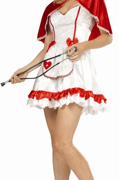 sexy caped nurse