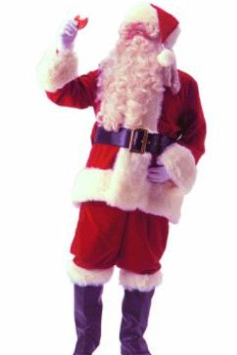 Velveteen Santa
