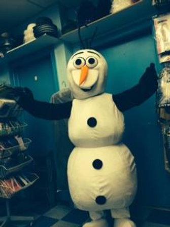snow flake snowman