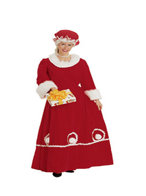 TRADITIONAL MRS CLAUSE-RENTAL FEE: $ 60.00