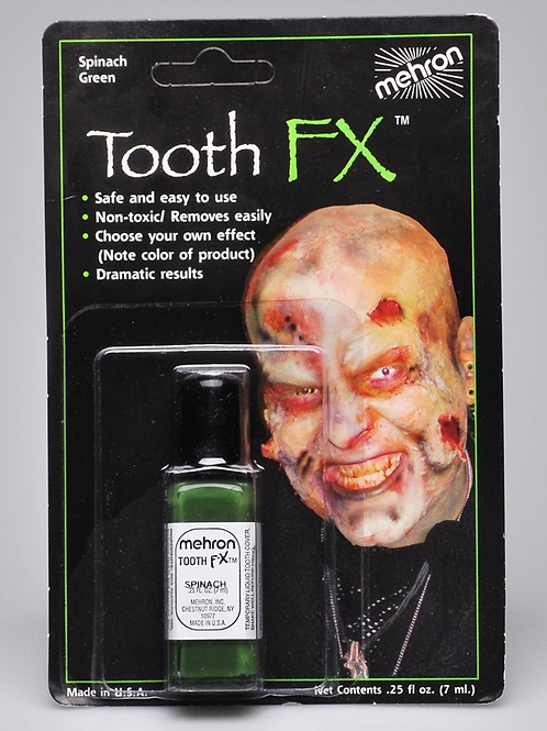 SPINACH GREEN TOOTH FX