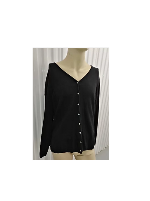 BLACK CARDIGAN - RENTAL FEE $20.00