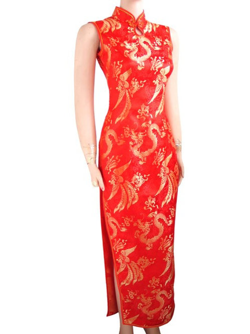RENTAL FEE: $30.00-RED ORIENTAL DRESS