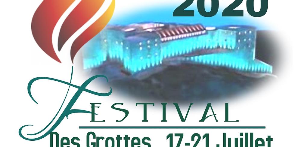 FESTIVAL DES GROTTES 2020