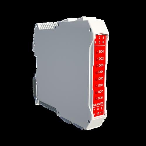 CPUC-OUT8-01 Controller Programmabile 8 uscite digitali 24VAC/DC 500mA