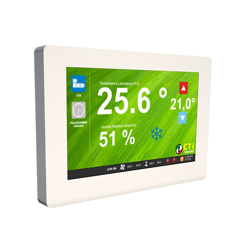 Pannello HMI touch capacitivo Setpoint