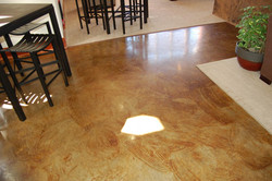 Indoor Fireplace and Flooring
