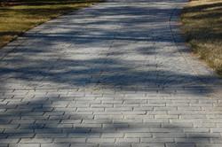 Grey Cobblestone With Fan Pattern