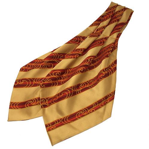 Cravat made from Vintage Japanese Kimono / Satin