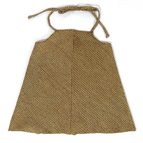 Girl's Cute Apron Dress / Shibori