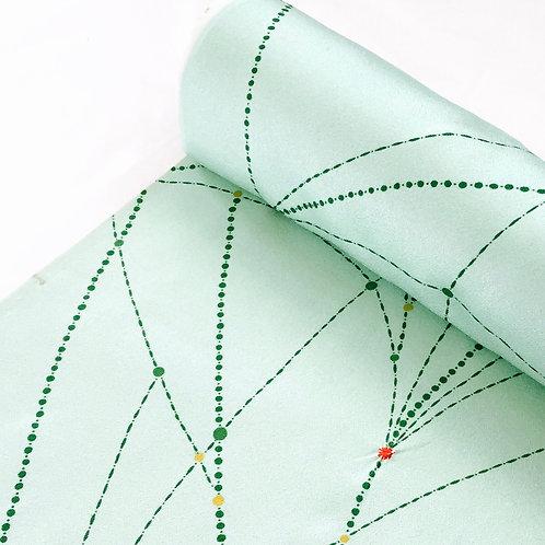 Vintage Silk Kimono Fabric by Yard