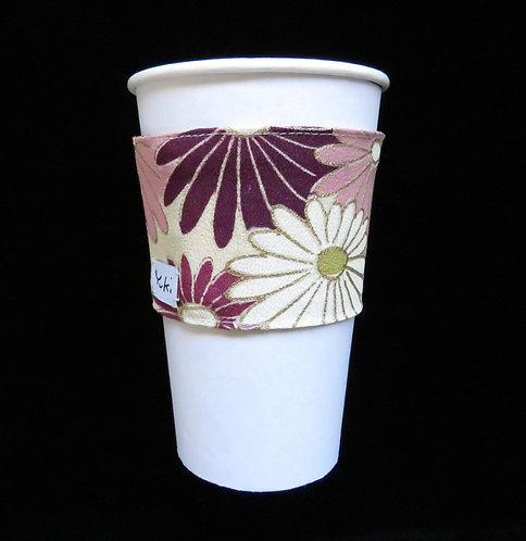 Re-usable Cup Sleeve / Chrysanthemum