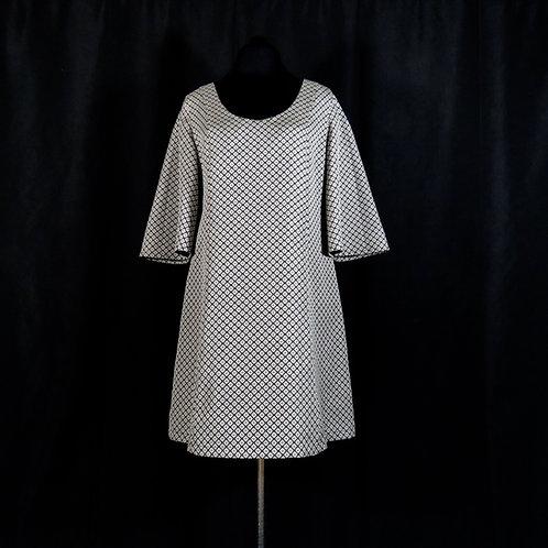Tunic Dress Made from Vintage Japanese Kimono