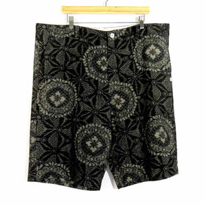 Men's Short Pants / Cotton / Kasuri