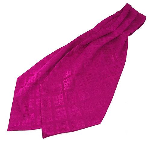 Cravat made from Vintage Japanese Kimono / Mon-Rinzu
