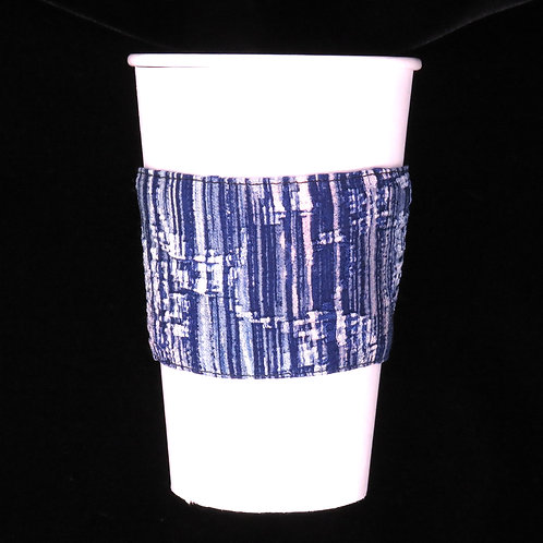 Re-usable Cup Sleeve / Blue