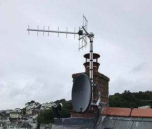 New TV Aerial and Satellite Installation, St Mawes nr Truro