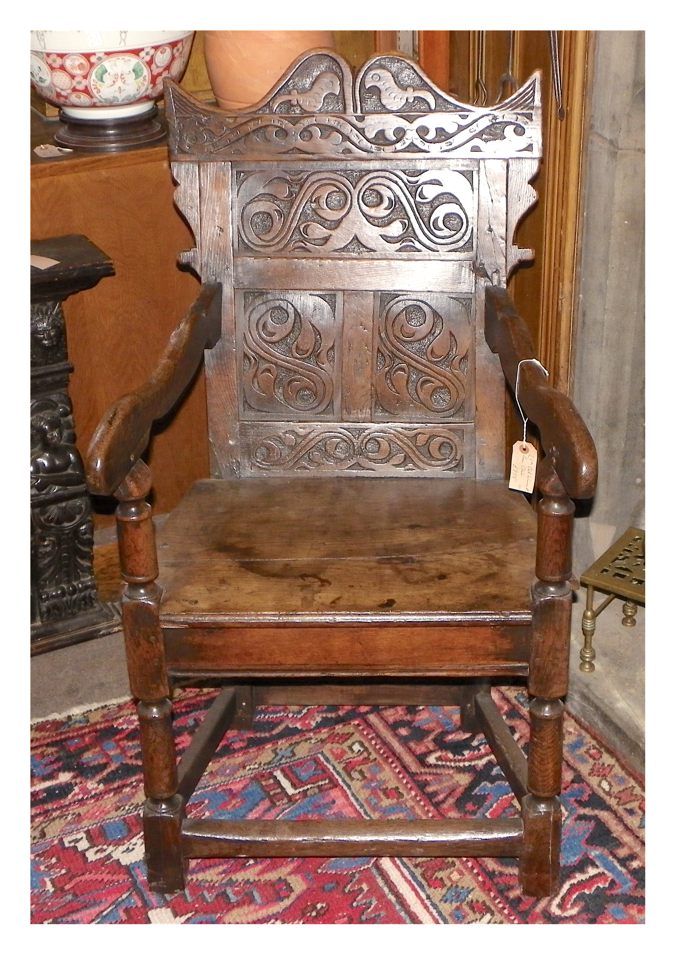 WAINSCOT CHAIR  NOW SOLD