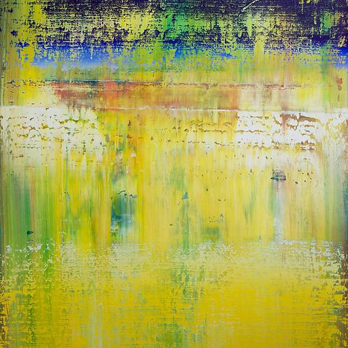 Abstract Yellow #63