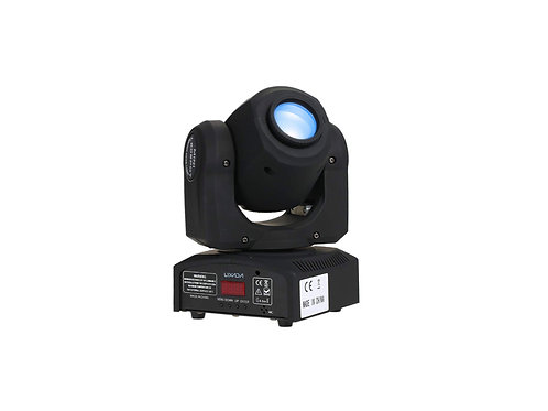 Lixada Moving Head Light Sound Control Gobo Lighting 7 / 10 Channels Rainbow