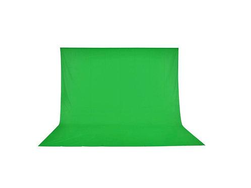Photo Studio Background 10x10' Green Muslin Photo Backdrop