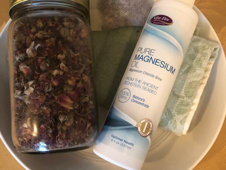 Healthy Habits - Rose Petal Magnesium Bath