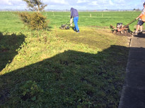 Before and after Garden for the Busy Dairy Farmer