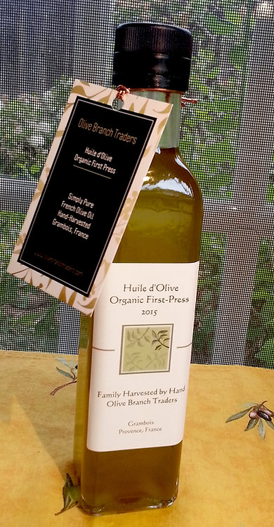 Extra Virgin Organic Olive Oil 8.5oz  (250ml)