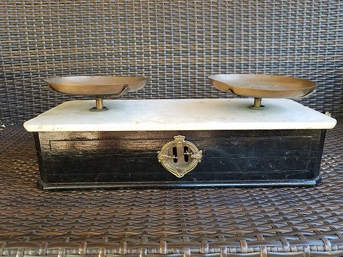 Antique Beranger French Balance Scale 1800s